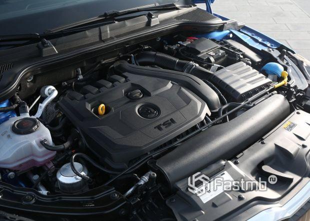 Бензиновый двигатель Skoda Scala 2019