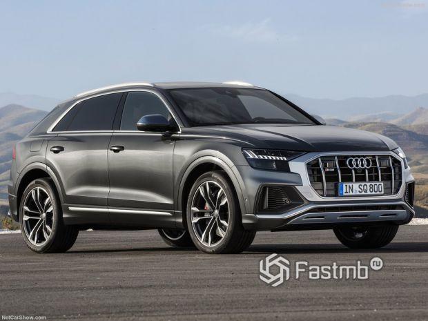 Audi SQ8 2020: «заряженный» король