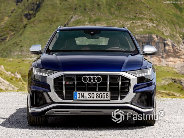 Внешний облик Audi SQ8 2020