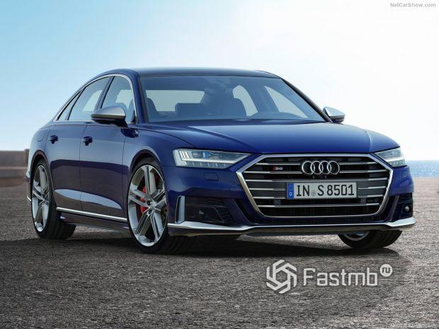 Обзор Audi S8 2020: флагманская «зажигалка»