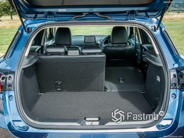 Mazda CX-3 2019, багажник