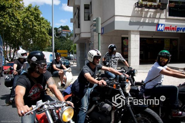 мотоциклисты Испании
