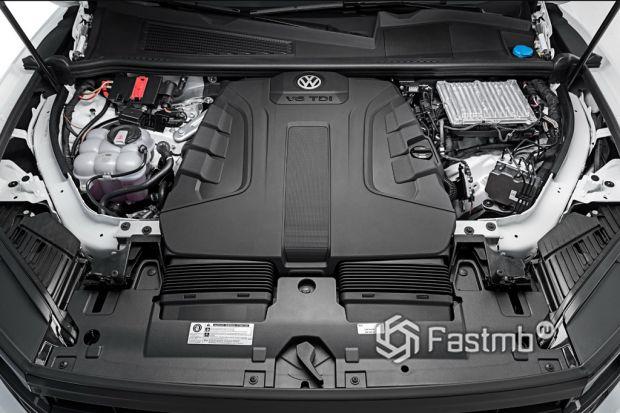 двигатель VW Touareg