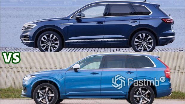 Что лучше: VW Touareg или Volvo XC90?