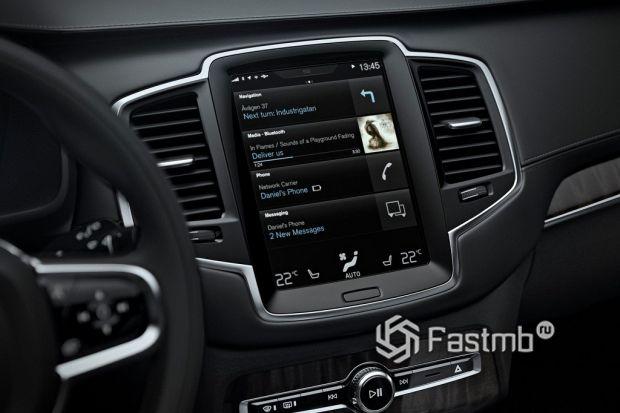 медиа система Volvo XC90
