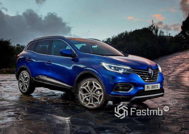 Новый кроссовер Renault Kadjar 2019