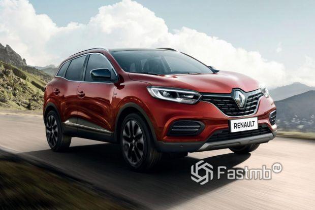 Светодиодная оптика Renault Kadjar 2019