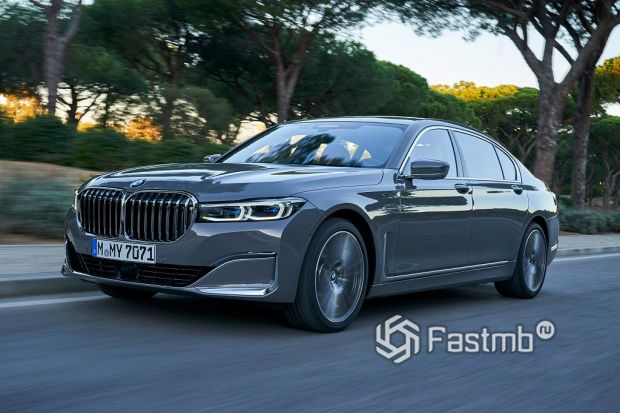 экстерьер BMW 7-серии
