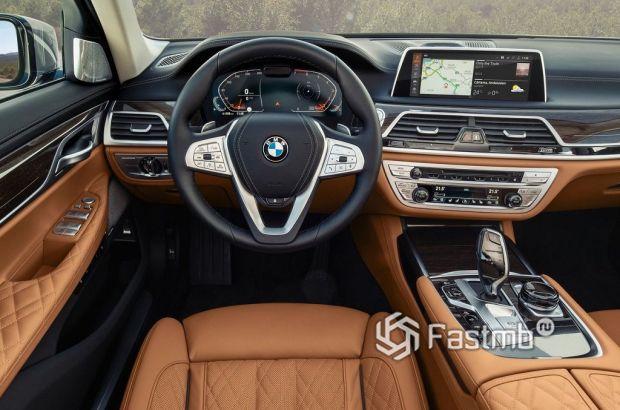 BMW 7-серии, панель управления