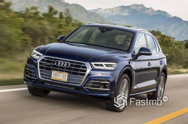 внешний вид Audi Q5