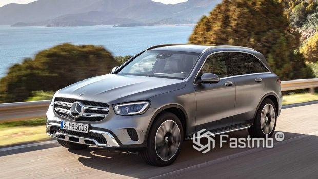 экстерьер Mercedes-Benz GLC