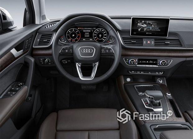 Внутреннее оформление Audi Q5