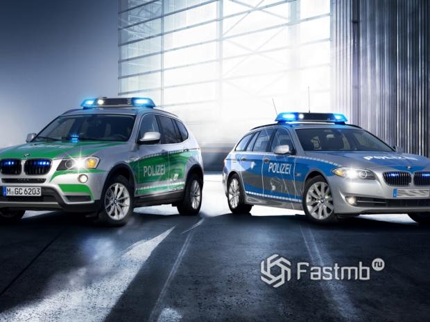 Красивые полицейские машины разных стран: ТОП-10