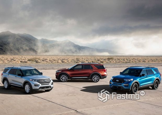 Новая генерация Ford Explorer 2020