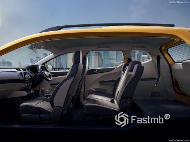 Renault Triber 2020, интерьер