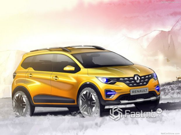 Обзор Renault Triber 2020: большой маленький вэн