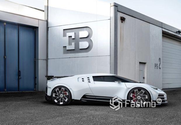 Боковая часть Bugatti Centodieci 2020