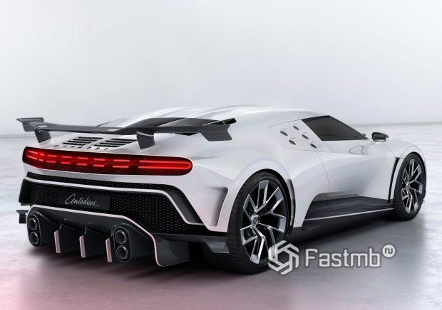 Задние стопы Bugatti Centodieci 2020