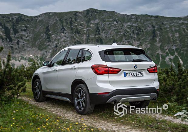 Задняя часть BMW X1 2016-2019