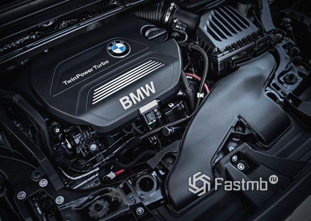 Двигатель кроссовера BMW X1 2016