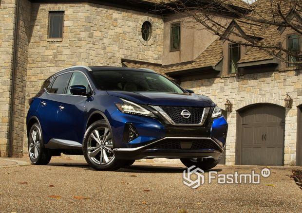 Обновленный дизайн Nissan Murano 2019
