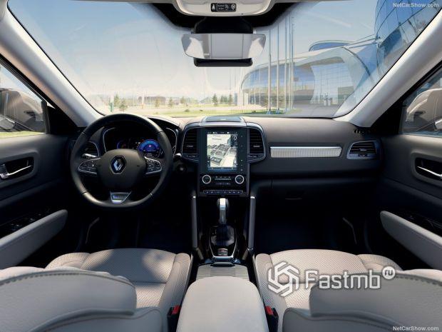 Renault Koleos 2020, панель управления
