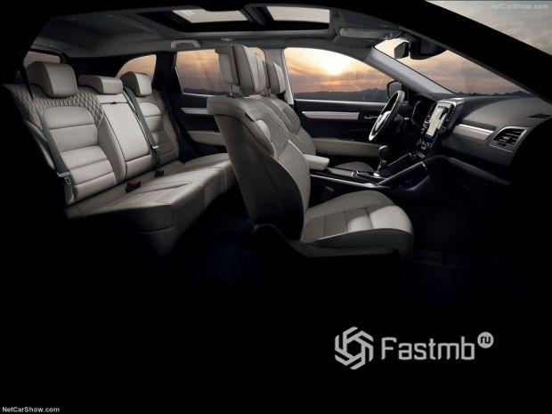 Renault Koleos 2020, интерьер