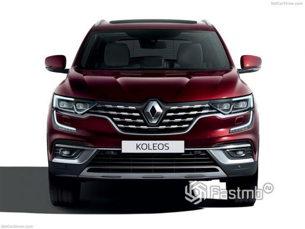 Renault Koleos 2020, вид спереди