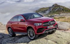 Mercedes-Benz GLE Coupe 2020 - характеристики, фото