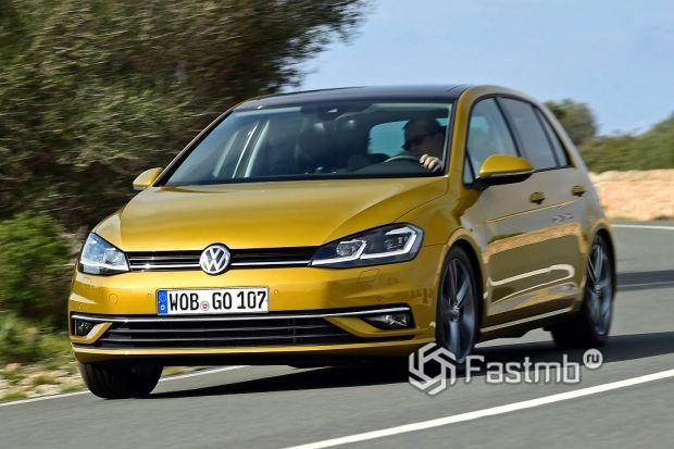 внешний вид VW Golf