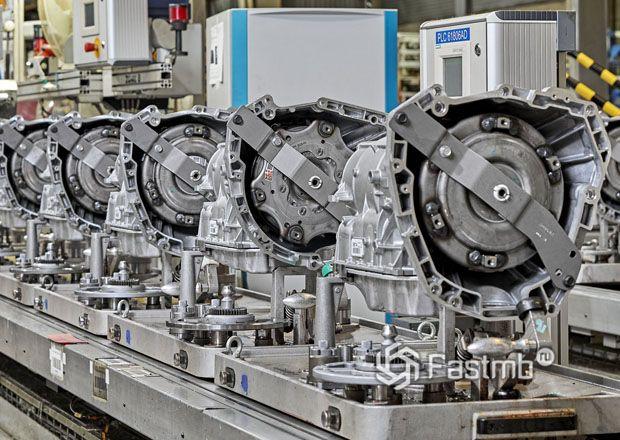 Производство автоматической коробки передач