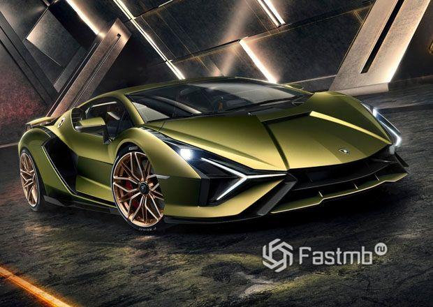 Новый Lamborghini Sian 2020
