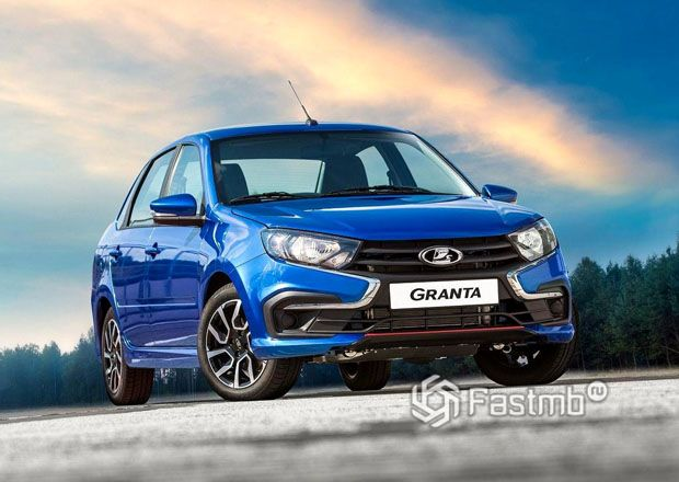 Новая Lada Granta Drive Active