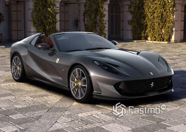 Родстер Ferrari 812 GTS 2020