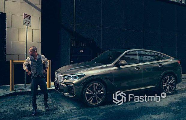 Третья генерация кроссовера BMW X6 2020