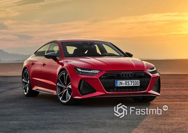 Обновленная Audi RS7 Sportback