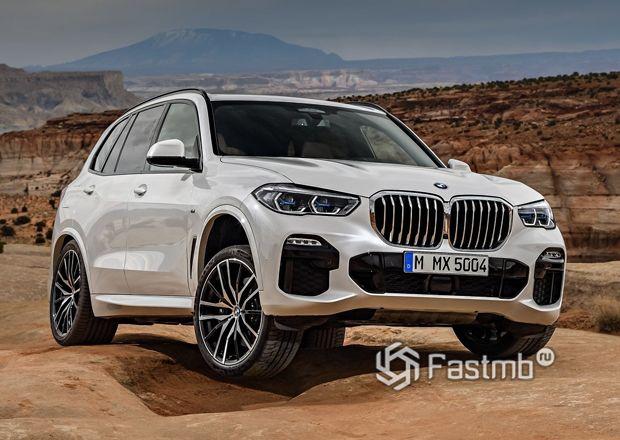 Новый BMW X5 2019