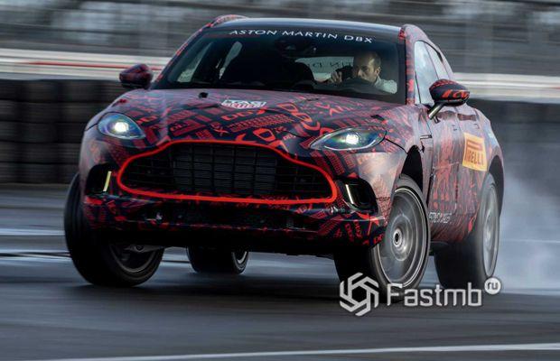 Новый кроссовер Aston Martin DBX
