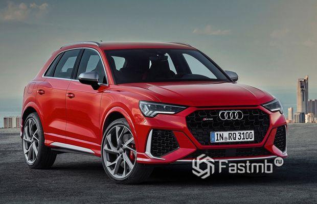 Новый кроссовер Audi RS Q3 2020