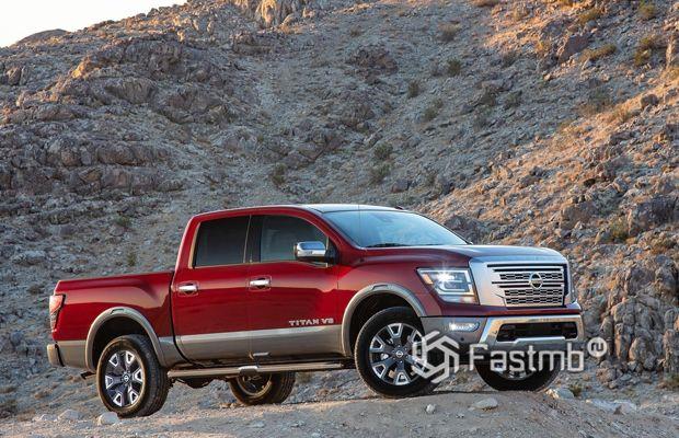 Новый Nissan Titan 2020
