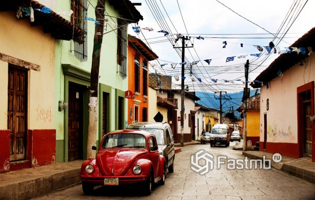 Мексика, аренда автомобиля