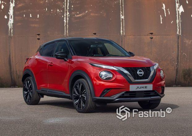 Передний бампер и оптика Nissan Juke 2020