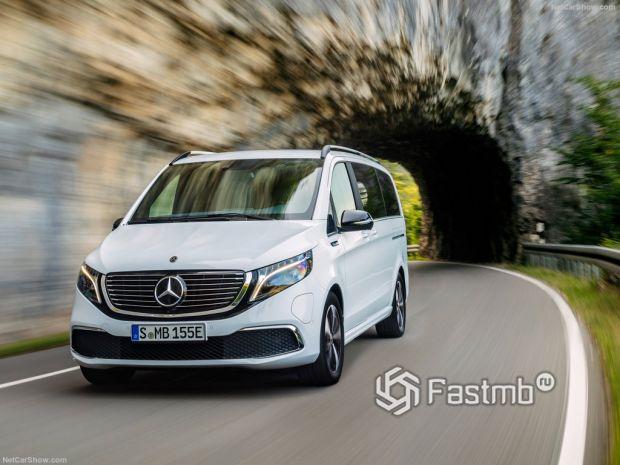 Mercedes-Benz EQV 2020, вид спереди