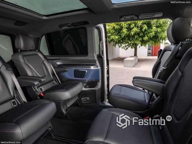 Mercedes-Benz EQV 2020, сидения