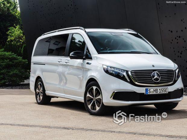 Обзор Mercedes-Benz EQV 2020