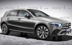 Mercedes-Benz GLA 2020 – каким будет новый кроссовер