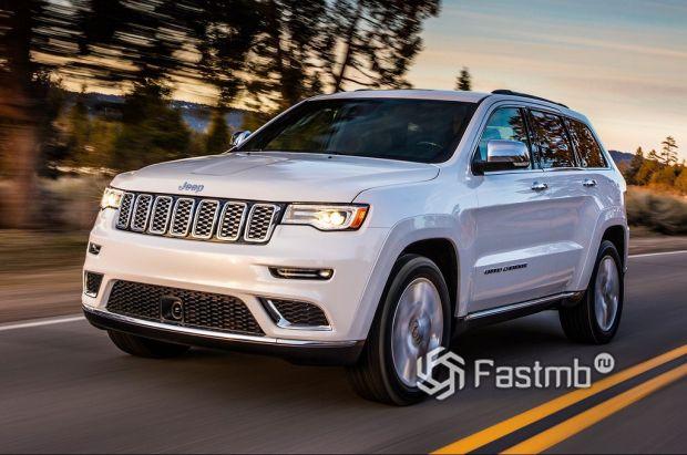 внешний вид Jeep Grand Cherokee