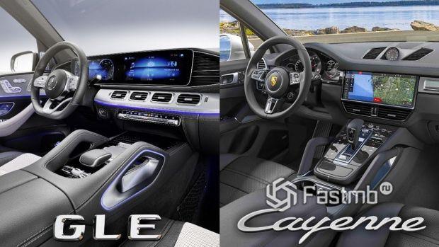 Mercedes-Benz GLE vs Porsche Cayenne — какая модель лучше?