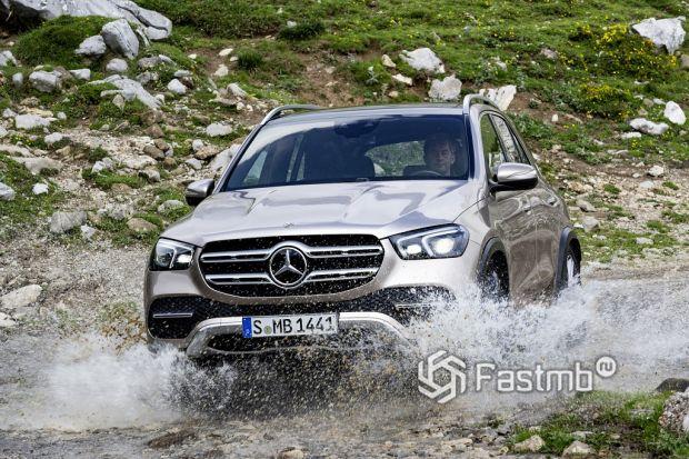 ездовые качества Mercedes-Benz GLE