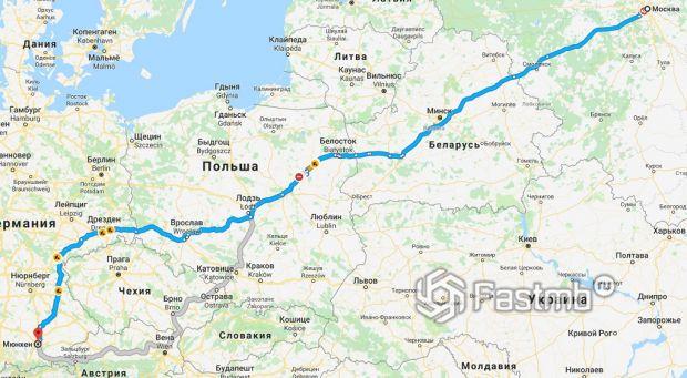 Как добираться до Германии